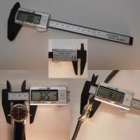 Carbon- Elektronik LCD Digital Messschieber speziell für empfindliche Materialien!