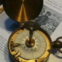 Nachtwächter Kontroll Uhr ISGUS 1897