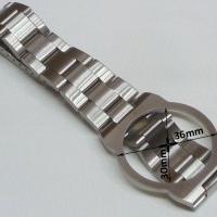 Omega Dynamic - Uhrband Edelstahl mit Faltschließe NOS! Kostenloser Versand!
