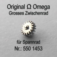 Omega Grosses Zwischenrad für Sperrad Part Nr. Omega 550-1453 Cal. 550 551 552 560 561 562 563 564 565 750 751