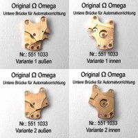 Omega Untere Brücke für Automatvorrichtung Part Nr. Omega 551-1033 Cal. 551 552 561 562 564 565 751 752