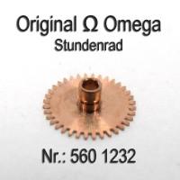 Omega Stundenrad H 1 Höhe 1,83 mm Part Nr. Omega 560-1232 Cal. 560 561 562 563 564 565 610 611 613