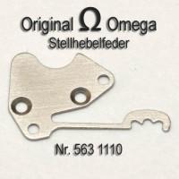 Omega Stellhebelfeder Part Nr. Omega 563-1110 Cal. 563 564 565 613 750 751 752