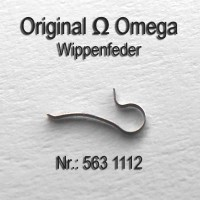 Omega Wippenfeder Part Nr. Omega 563-1112 Cal. 563 564 565 613 750 751 752