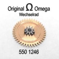 Omega – Wechselrad – Minutenrad Cal. 550, 551, 552, 560, 561, 562, 563, 564, 565, 750, 751, 752 Part Nr. 1246