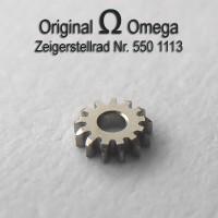 Omega Zeigerstellrad Part Nr. Omega 550-1113 Cal.  550 551 552 560 561 562 563 564 565 750 751 752