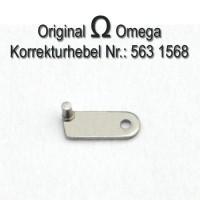Omega Korrekturhebel für Datum Schnellverstellung. Part Nr. Omega 563-1568 Cal. 563 564 565 750 751 752