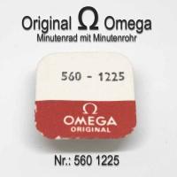 Omega Minutenrad mit Minutenrohr Part Nr. Omega 560-1225 + Nr. Omega 560-1219 Cal. 560 561 562 563 564 565 613