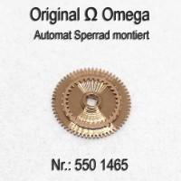 Omega Automat Sperrad montiert Part Nr. Omega 550-1465 Cal. 550 551 552 560 561 562 563 564 565 750 751 752