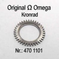 Omega Kronrad Part Nr. Omega 470-1101 Cal. 470 471 490 491 500  bis 505 550 551 552 560 bis 565 600 bis 613 750 751 752