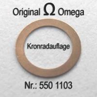 Omega Kronradauflage Part Nr. 1103 Cal. 550 551 552 560 561 562 563 564 565 600 601 602 610 611 613 750 751 752
