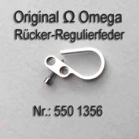 Omega Rücker- Regulierfeder Schwanenhals Part Nr. 1356 Cal. 550 551 552 560 561 562 600 610