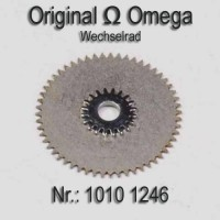 Omega – Wechselrad – Minutenrad Part Nr. 1246 Cal. 1010 1011 1012 1020 1022 1030 1035