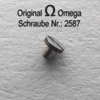 Omega Eratzteil – Schraube Part Nr. 2587