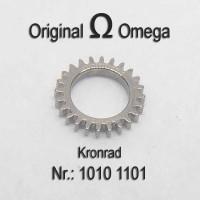 Omega Ersatzteil  – Kronrad Part Nr. 1101 Cal. 1010 1011 1012 1020 1021 1022 1030 1035