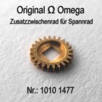 Omega Ersatzteil - Zusatzzwischenrad für Spannrad Part Nr. 1477 Cal. 1010 1011 1012 1020 1021 1022