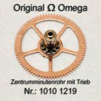 Omega Uhrenersatzteil – Zentrum Minutenrohr montiert Part Nr. 1010 1219 Cal. 1010 1011 1012 1030 1035