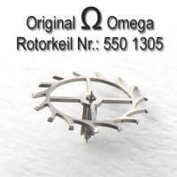 Omega Uhrenersatzteil - Ankerrad mit Trieb Part Nr. 1305 Cal. 550 551 552 560 561 562 563 564 565 750 751 752