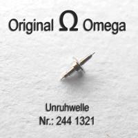 Omega Uhrenersatzteil – Unruhwelle NOS - Part Nr. 1321 Cal. 244