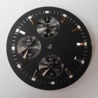 ETA Chronograph Zifferblatt Lagerware in neuwertigem Zustand. NR1
