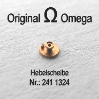 Omega Hebelscheibe mit Hebelstein  Part Nr. Omega 1324 Cal 241 242 243 244