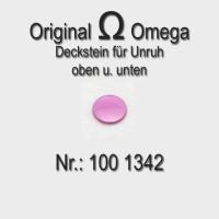 Omega Deckstein für Unruh oben Part Nr. Omega 1342 Cal. 100 260 330 bis 355 - 480 481 482 550 bis 565 und 600 er Serie