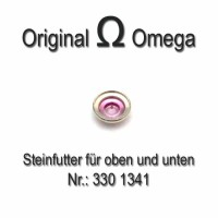 Omega Steinfutter für oben und unten Part Nr. Omega 1341 Cal. 330 bis 355 - 480 481 482 550 bis 565 und 600 er Serie