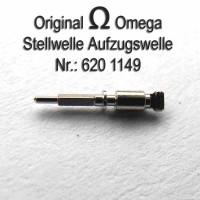 OMEGA Aufzugswelle für zweiteilige Welle männlich Part Nr.:  Omega  1149 Cal. 620 630