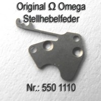 Omega Stellhebelfeder Part Nr. Omega 1110 Cal. 550 551 552 560 561 562