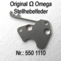 Omega Stellhebelfeder Part Nr. Omega 550-1110 Cal. 550 551 552 560 561 562