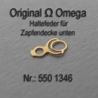 Omega Haltefeder für Zapfendecke unten Part Nr. Omega 1350 Cal. 244 252 550 551 552 560 561 562 600 601 602 610 611