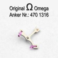 Omega Anker mit Welle Part Nr. Omega 1316 Cal. 470 471 490 491 500 501 502 503 504 505