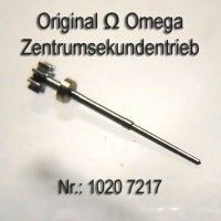 Omega Zentrumsekundentrieb H1 mit Ring Part Nr. Omega 1020-7217 Cal. 1020 1021 1022