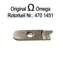 Omega Uhrenersatzteil - Rotorkeil Part Nr. Omega 1451 Cal. 470 471 490 491 502 503 504 505