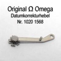 Omega Datumkorrekturhebel, Korrekturhebel Part Nr. Omega 1020-1568 Cal. 1020 1021 1022