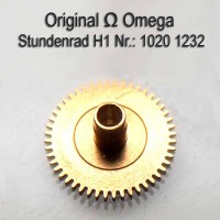 Omega Stundenrad H1 Part Nr. Omega 1232 Cal. 1020 1021 1022