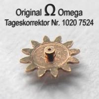 Omega Tageskorrektor Part Nr. Omega 7524 Cal. 1020 1021 1022