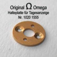 Omega Halteplatte für Tagesstern Part Nr. Omega 1555 Cal. 1020 1021 1022