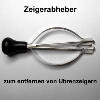 Zeigerabheber Werkzeug zum entfernen von Uhrenzeigern