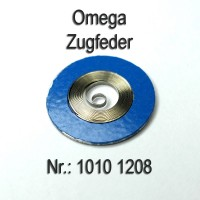 Omega Zugfeder NEU Part Nr. Omega 1010-1208 Cal. 1010 1011 1012 1020 1021 1022