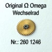 Omega Wechselrad – Omega Minutenrad Part Nr. Omega 260-1246 Cal. 260 261 262 265 266 267 268 269 280 283 284 285 286 30 30SCT2 30T1 30T2 30T3