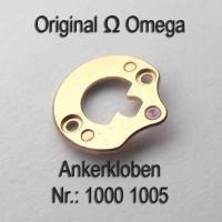 Omega Ankerklolben Part Nr. Omega 1000-1005 Cal. 1000 1001 1002