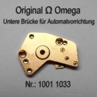 Omega Untere Brücke für Automatvorrichtung Part Nr. Omega 1001-1033 Cal. 1001 1002