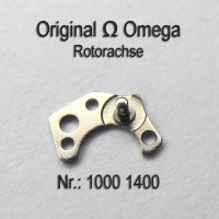 Omega Rotorachse Part Nr. Omega 1000 -1400 Cal. 1000 1001 1002