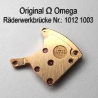 Omega Räderwerkbrücke mit Part Nr. Omega 1012-1003 Cal. 1012