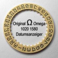 Omega Datumanzeiger Neuware (Datumsscheibe - Datumsring) Part Nr. Omega 1020-1580 Cal. 1020 1021 1022