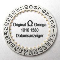 NEUWERTIGER Omega Datumanzeiger (Datumsscheibe - Datumsring) Part Nr. Omega 1010-1580 Cal. 1010 1011 1012 1030  NR.02