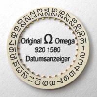 NEUWARE (NOS)! Omega Datumanzeiger (Datumsscheibe - Datumsring) Part Nr. Omega 920-1580 Cal. 920