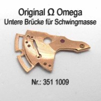 Omega untere Brücke für Schwingmasse, Hammerautomatik Part Nr. Omega 351-1009 Cal. 351 353 354 355