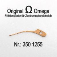 Omega Friktionsfeder für Zentrumsekundentrieb  Part Nr. Omega 350-1255 Cal. 350 351 352 353 354 355